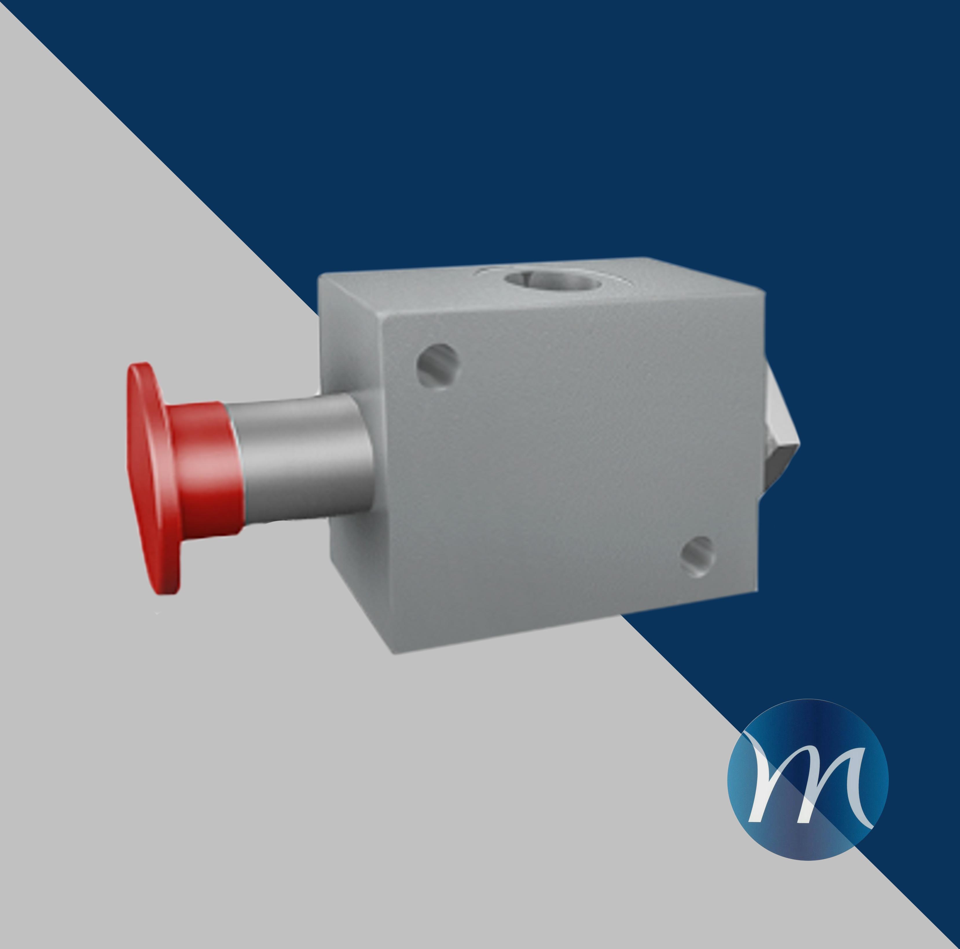 valve d'arrêt d'urgence manuelle